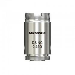 Wismec COIL DS NC 0.25 ohm per ORMA / MOTIV Atomizer (5 Pezzi)