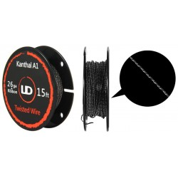 Resistive wire Twisted Wire 26GA+Ribbon 15FT Youde UD