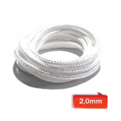 WICK twisted 2,0mm silica 95,21% - (3mt)