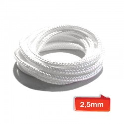 WICK twisted 2,5mm silica 95,21% - (3mt)