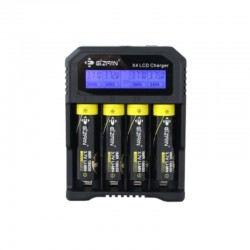 Efan Unique X4 LCD display universal charger with USB and car charger