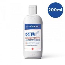 GEL DISINFETTANTE ANTIBATTERICO - 200 ML - IPERCLEANER