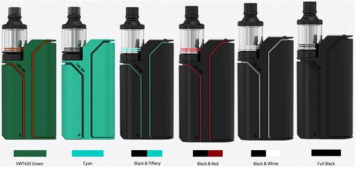 Colori disponibili RX75 REULEAUX starter kit bianco blu nero rosso verde