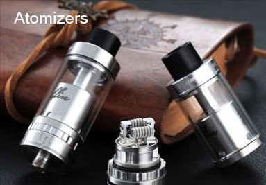 Flavordust atomizers